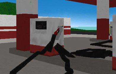 Simulator Gas Pumping