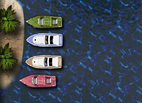 Speed boat parking